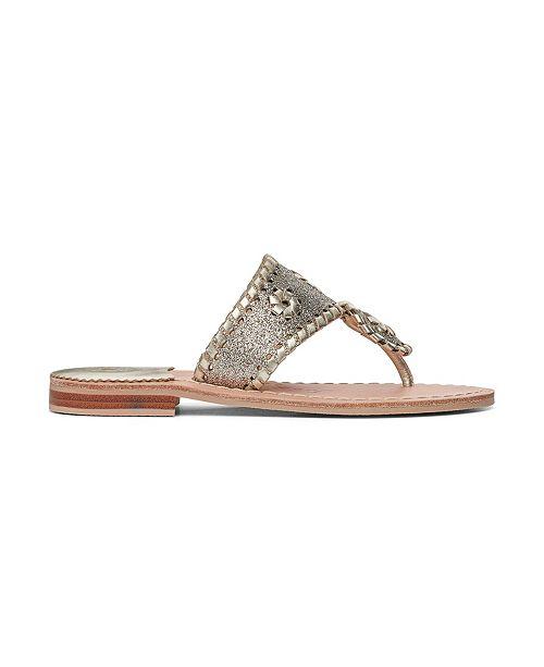 Jack Rogers Big Girl Miss Sparkle Sandals