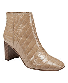 Marc Fisher Ragon Square-Toe Booties