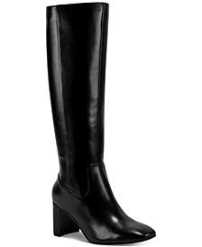 Revela Square-Toe Boots