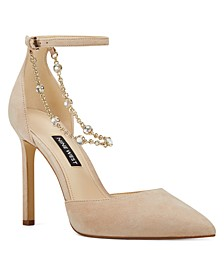 Talula Two-Piece Chained Pumps