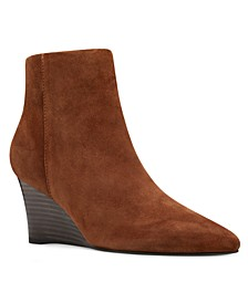 Carter Wedge Booties