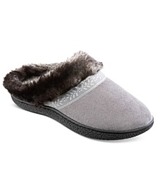 Women's Microsuede Addie Slippers With Memory Foam