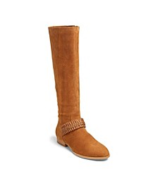 Tinsley Suede Knee Boots