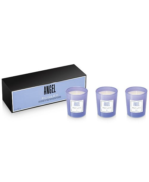 Mugler 3-Pc. ANGEL Candle Gift Set