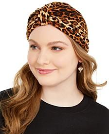 Leopard Print Turban