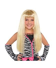 Big Girls Diva Long Blonde Wig