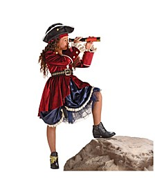Big Girls Dazzling Pirate Costume