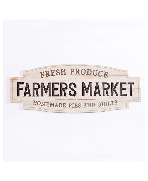 P Graham Dunn Farmers Market Wall Art