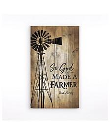 So God Made A Farmer Wall Art
