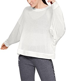 Women's Mesh Around Oversize Crew