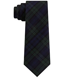 Men's Assorted Holiday Plaid Slim Ties