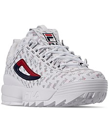 Men's Disruptor II Multi-Americana Casual Athletic Sneakers from Finish Line