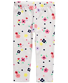 Baby Girls Stretch Leggings, Created For Macy's