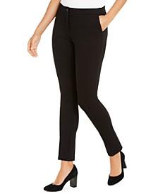 Ponté-Knit Skinny Pants