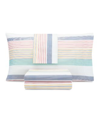 Kids Preppy Stripe Twin Sheet Set