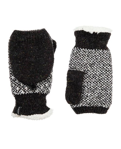 Isotoner Signature isotoner Women's Recycled Yarn Knit Flip-Top Mittens