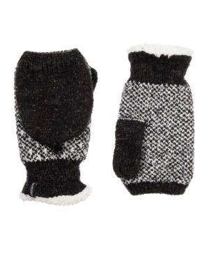 Women's Recycled Yarn Knit Flip-Top Mittens