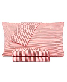 Kids Stripes at Sea Full Sheet Set