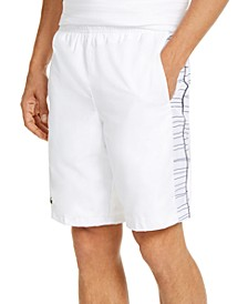 Men's Relaxed-Fit Side Printed Panel Sport Shorts