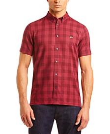 Men's Slim-Fit Check Shirt