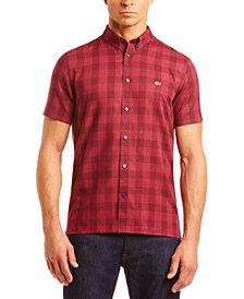 Lacoste Men's Slim-Fit Check Shirt