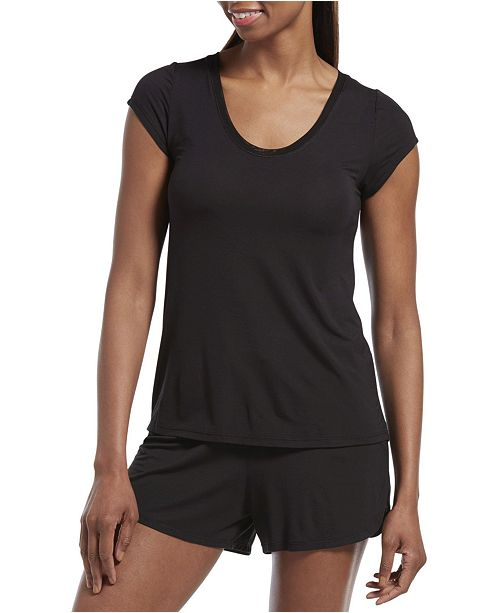 Hue Sleepwell Collection Temp Tech T-Shirt & Boxer Shorts