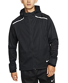 Men's Shield Hooded Running Jacket