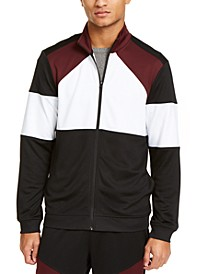 Men's Colorblocked Track Jacket, Created for Macy's