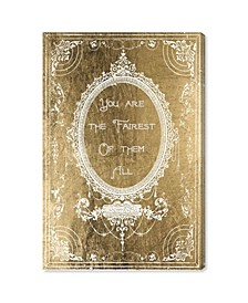 "The Fairest Gold Canvas Art - 15"" x 10"" x 1.5"""