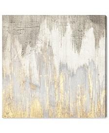 """Golden Caves Canvas Art - 36"""" x 36"""" x 1.5"""""""
