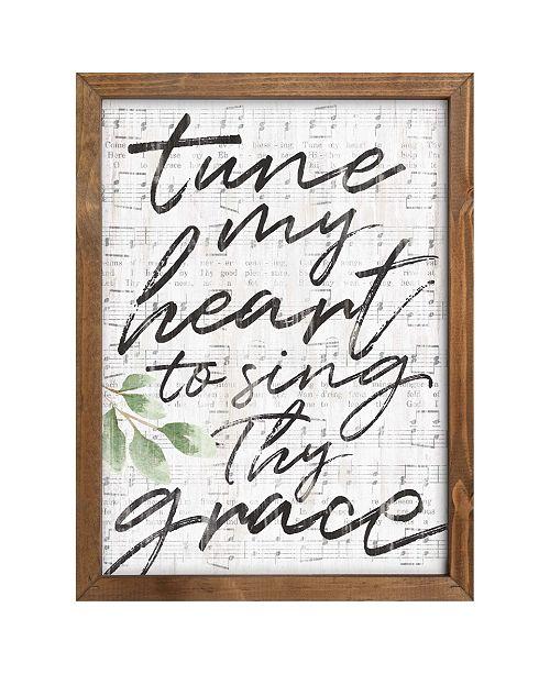 P Graham Dunn Tune My Heart To Sing Thy Grace Wall Art