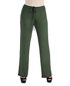 Women Comfortable Drawstring Lounge Pants