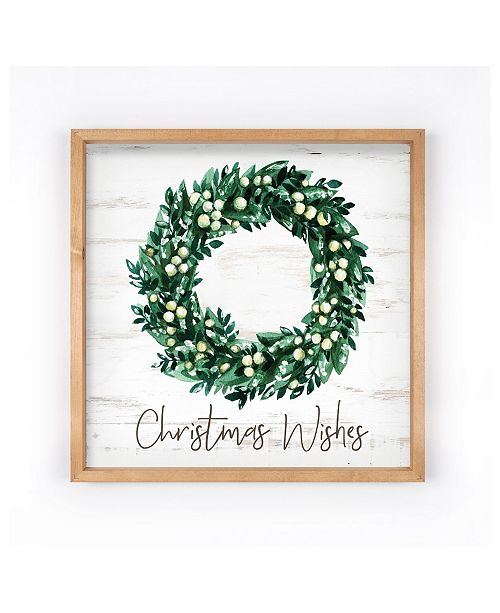 P Graham Dunn Christmas Wishes Wall Art