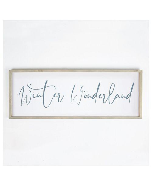 P Graham Dunn Winter Wonderland Wall Art