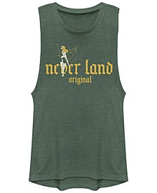 Juniors' Tinkerbell Neverland org Festival Muscle Tank Top