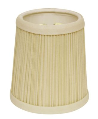 Slant Hardback Chandelier Lampshade with Flame Clip