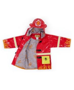 Kidorable Big Boy with Comfy Fireman Raincoat