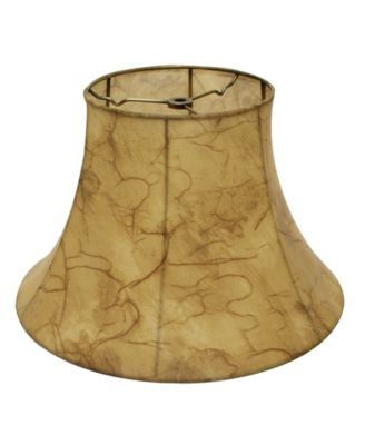 Slant Bell Faux Leather Softback Lampshade