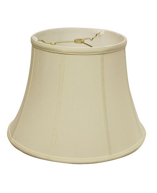Cloth&Wire Slant Modified Bell Softback Lampshade with Washer Fitter