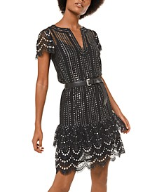 Studded Lace Dress