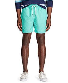 """Polo Ralph Lauren Men's 5.5"""" Traveler Swim Trunks"""