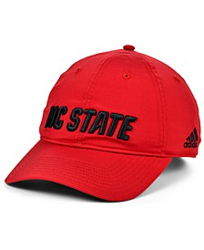 North Carolina State Wolfpack Coaches Sideline Slouch Strapback Cap