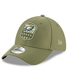 Philadelphia Eagles On-Field Salute To Service 39THIRTY Cap
