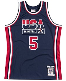 Men's David Robinson Authentic USA Jersey