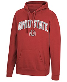 Men's Ohio State Buckeyes Arch & Logo Hooded Sweatshirt