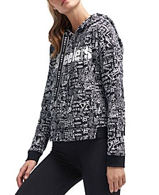 DKNY Women's Pittsburgh Steelers Urban Hoodie