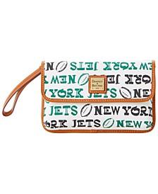New York Jets Doodle Milly Wristlet