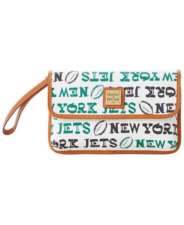 Dooney & Bourke New York Jets Doodle Milly Wristlet