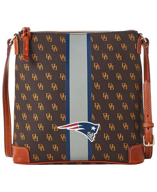 Dooney & Bourke New England Patriots Stadium Signature Zip Crossbody