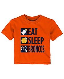 Baby Denver Broncos Daily Agenda T-Shirt